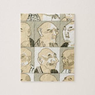 Puzzle Vieux hommes japonais