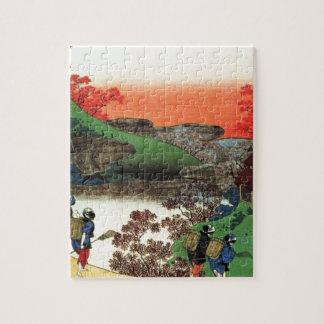 Puzzle Village japonais