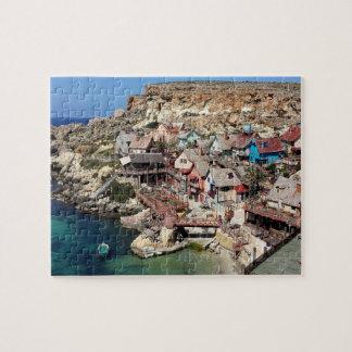 Puzzle Village Malte de Popeye