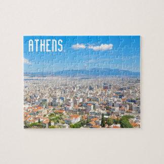 Puzzle Ville d'Athènes, Grèce