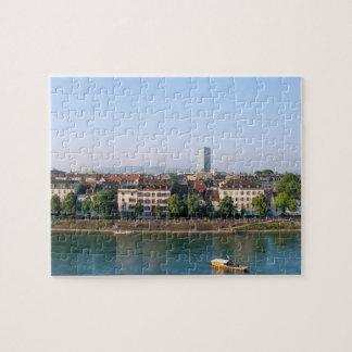 Puzzle Ville de Bâle dans le souvenir de la Suisse