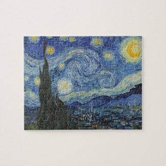 Puzzle Vincent van Gogh | la nuit étoilée, juin 1889