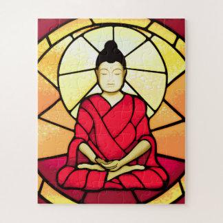 Puzzle Vitrail de tache de Bali Bouddha