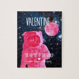 Puzzle Vous êtes hors de ce monde Valentine