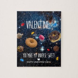 Puzzle Vous faites mon bonbon Valentine à univers !