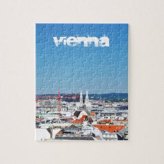 Puzzle Vue aérienne de Vienne, Autriche