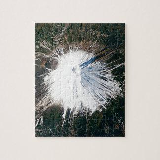 Puzzle vue aérienne du mont Fuji