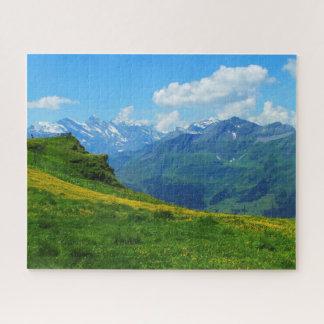 Puzzle Vue alpine en Suisse