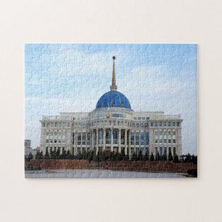 Puzzle Vue au palais de président à Astana dans