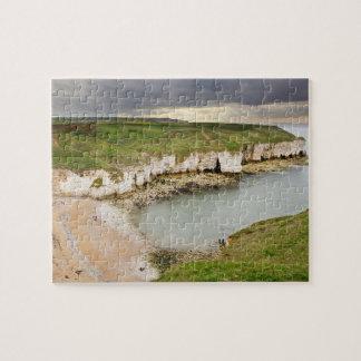 Puzzle Vue de photo de souvenir de falaises de