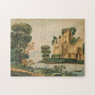 Puzzle Vue d'un château