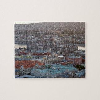 Puzzle Vue panoramique de Budapest du centre