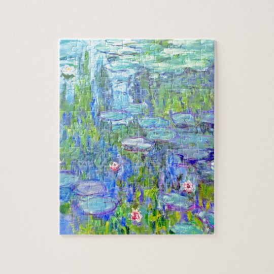 Puzzle water-lilies-38