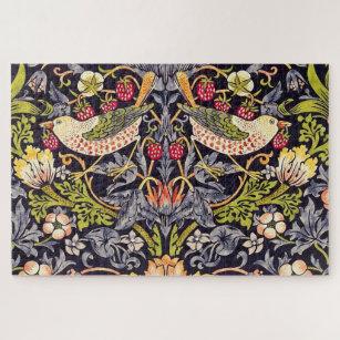 Puzzle William Morris Strawberry Thief Floral Art nouveau