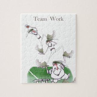 Puzzle Work d'équipe de cricket de Yorkshire d'amour '
