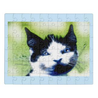 Puzzle Yeux bleus