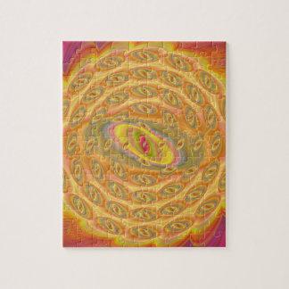 Puzzle Yeux hypnotiques du Sun