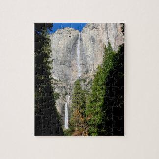 Puzzle Yosemite Falls en novembre