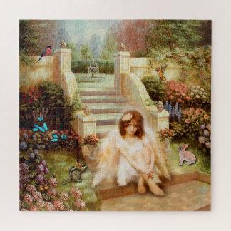 Puzzles angéliques de prière de sérénité