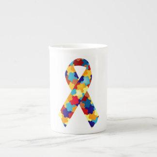 Puzzles d'autisme mug en porcelaine