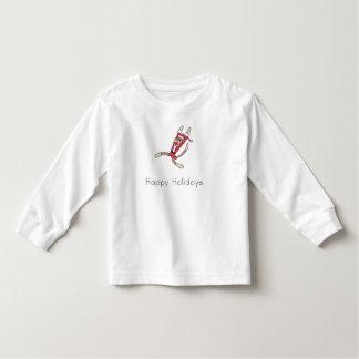 pyjamas de Noël de singe de chaussette T-shirt Pour Les Tous Petits