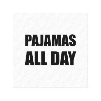 Pyjamas toute la journée toiles