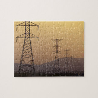 Pylônes de l'électricité puzzle