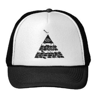 Pyramid of an eye //CAP Casquettes
