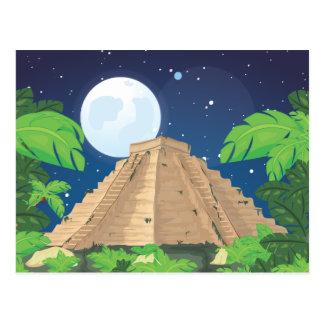 Pyramide aztèque cartes postales