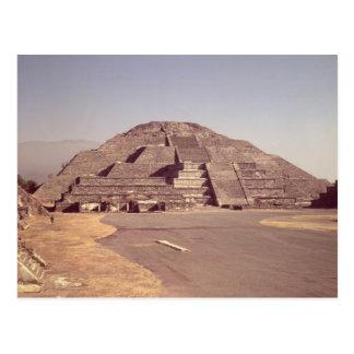 Pyramide de la lune, ANNONCE c.100-350 construite Carte Postale