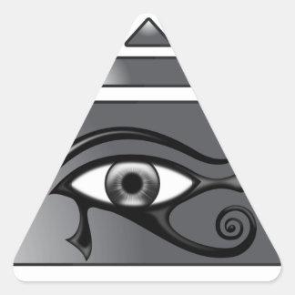 Pyramide Horus Autocollants