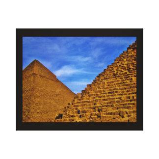 Pyramides égyptiennes à Gizeh Toiles