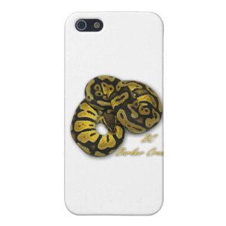 Python en pastel de boule iPhone 5 case