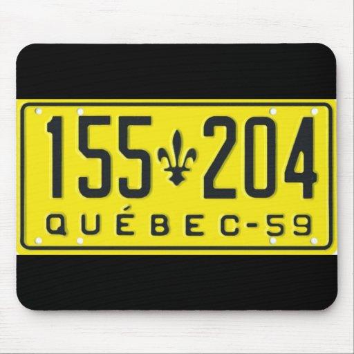 QC59 TAPIS DE SOURIS