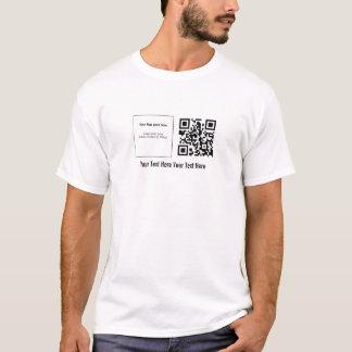 QRstuff.com fait sur commande T-shirt de code de