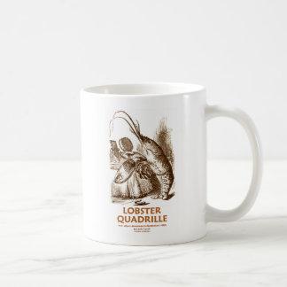 Quadrille de homard (Alice au pays des merveilles) Mug Blanc