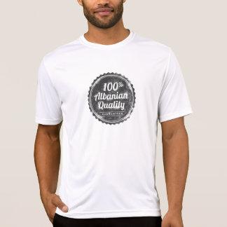Qualité d'Albanais de 100% T-shirts