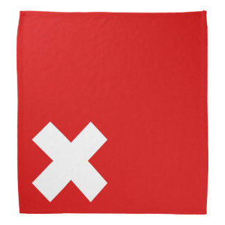 Qualité de drapeau de la Suisse Bandanas