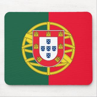 Qualité portugaise de drapeau tapis de souris