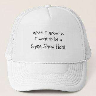 Quand je me grandis voulez être un centre serveur casquette