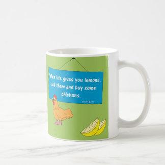 Quand la vie vous donne la tasse de citrons…
