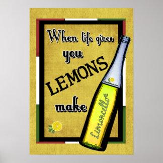 Posters limoncello limoncello affiches art limoncello toiles limoncello - Quand cueillir les citrons ...