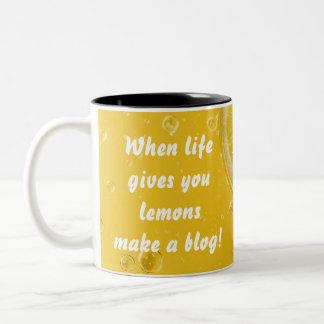 Quand la vie vous donne les citrons font une tasse