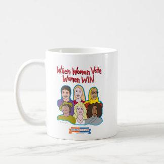Quand les femmes votent, les femmes GAGNENT la Mug