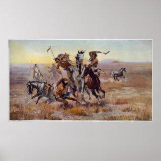Quand Sioux et Blackfeet se sont réunis Posters