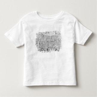Quarante ans de voyages des enfants de l'Israël T-shirt Pour Les Tous Petits
