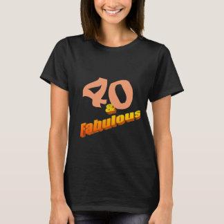 Quarante et fabuleux t-shirt