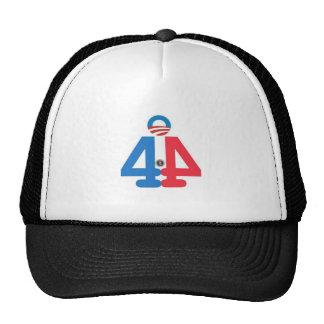 quarante-quatrième Chapeau du Président Barack Oba Casquette Trucker