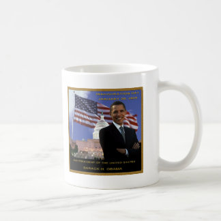 quarante-quatrième Le Président Barack H. Obama Mug Blanc