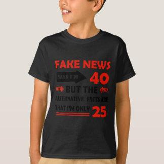 quarantième cadeaux d'anniversaire an t-shirt
